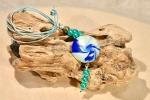 Collana azzurro mare
