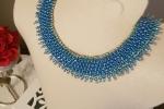 Collana girocollo blue