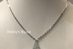 Collana con ciondolo stella in macramè argento