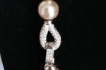 Collana con perle sintetiche di alta qualità