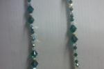 Collana elegante chiusura argento 925,cristalli swarovski