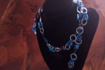 Collana in tecnica chainmaille