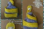 Collana ispirata Rapunzel
