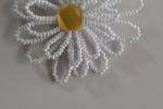 Collana Margherita realizzata a mano con perline