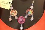 Collana mille luci - Girocollo con catenina in acciaio inox