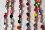 Collana Multicolor in perle filigrana