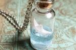 Collana Nave in bottiglia