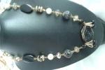 Collana nero e dorato