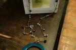 Collana uncinetto perle realizzata a mano