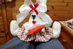 Coniglietta in feltro modellabile
