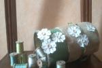 Contenitori porta tutto con fiori