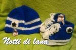 Coordinato scarpine-cappello allstar