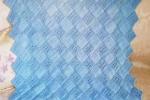 Copertina da neonato azzurra