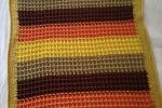 Copertina per carrozzina in caldo cotone colori autunnali