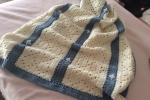 Copertina in lana merinos