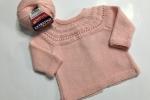 Copri fasce neonato in pura lana vergine
