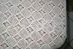 Copriletto cotone artigianale uncinetto unica lavorazione