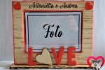 Cornice per foto Love - Personalizzabile