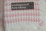 Copertina rosa, in lana merinos