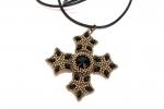 Criss cross di perline repubblica ceca e perline giapponesi