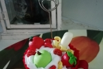 Cupcake portafoto in fimo