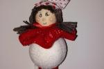 Decorazione natalizia a forma di bambolina