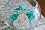 Decorazioni,bomboniere tema mare per matrimonio in ceramica