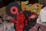 Centrotavola decorativo compleanno per festa a tema anni 50