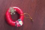 Decorazioni natalizie ghirlande da appendere