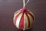 Decorazioni per l'albero a forma di pallina