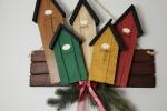 Dietro porta natalizio in polistirene