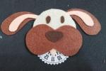 Disco orario a forma di cane