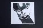 Disegno stilizzato di volto di bambino