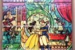 """Collage di piastrelle Disney: """"La bella e la bestia"""""""