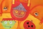 Borsettine porta caramelle in pannolenci Halloween