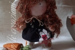Dolly decorativa con accessori Pasquali