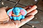 Dumbo in porcellana fredda