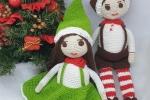 Elfi Amigurumi Natale 2020 con arti mobili
