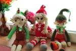 Elfi di Natale amigurumi