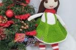 Elfi femminuccia Amigurumi Natale 2020 con arti mobili