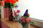 Elfo fiorellino amigurumi