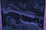 Facciamo musica - Violino su rose