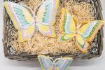 Farfalle ceramica/Decorazioni Pareti/Ceramiche Artistiche