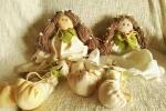 Bambola primavera fiocconascita 'Fata dei Boschi'