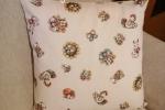 Federa cuscino con cerniera 40x40cm