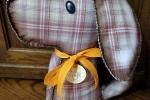 Ferma porta Cane in pannolenci stampato e morbido