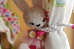 Ferma tenda Amigurumi coniglietto