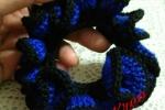 Fermacoda colorato in cotone
