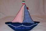 Fermaporta barca fatto a mano, mis. h 26 L 22