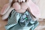 Fiocchi nascita conigli, benvenuto bebè birth bow